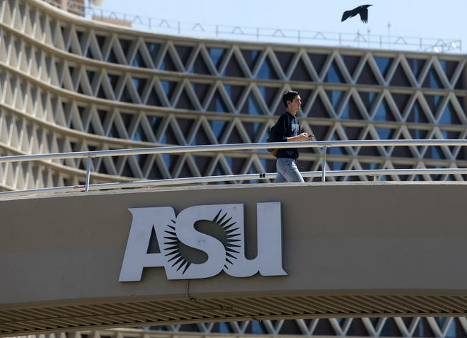 Nine Chinese students who were returning to the U.S. as undergraduate students at Arizona State University were detained at Los Angeles International Airport, university officials said.