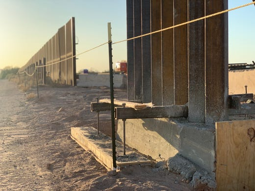 Border wall spending divides Martha McSally, Ruben Gallego on defense budget