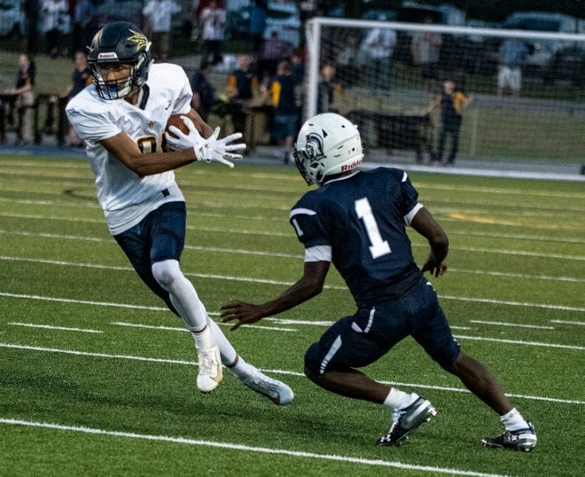 Greencastle-Antrim's Adam Root (81) and Chambersburg's Kevin Lee (1) are both primed for big games this week.