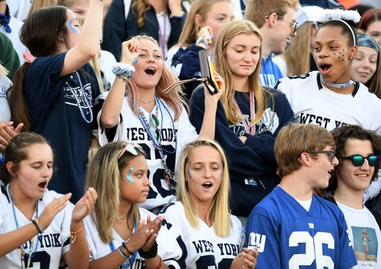 Central York visits West York for season-opening football Friday, Aug. 23, 2019. Bill Kalina photo