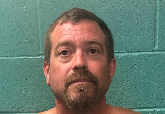 Redding police arrested Kevin Butcher, 40, of Redding in connection to an alleged shooting in downtown Redding on Saturday, Aug. 24, 2019.