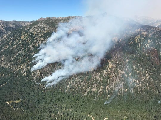 Fire managers are allowing the 3,400-acre Granite Gulch Fire to burn deep in the Eagle Cap Wilderness in an effort to improve forest health.