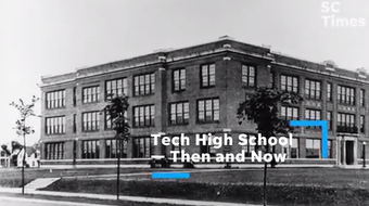 A look at facilities such as the pool, gym and classrooms throughout the last century — compared to the new Tech High School opening this fall.