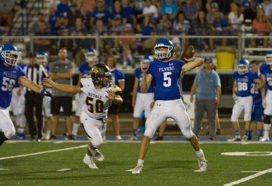 Dixie High football defeats Roy 41-21 Friday, Aug. 23, 2019.