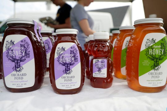 The Tallahassee Farmers Market was booming with business at its new location on the corner of Thomasville Road and Kerry Forest Parkway Saturday, Aug. 24, 2019.