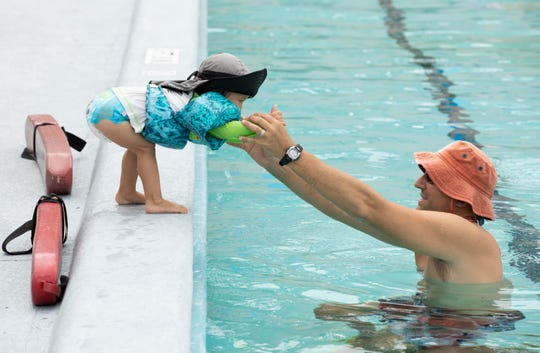 Leisure Square Day was held Saturday, Aug. 24, 2019, at Vero Beach's Leisure Square. The free community event was part Vero Beach's centennial celebration. The public was encouraged to try out the pool, exercise facility and special programs, including a yoga class and a turkey shoot, which ran throughout the day. Free food and ice cream were also served as part of the celebration.
