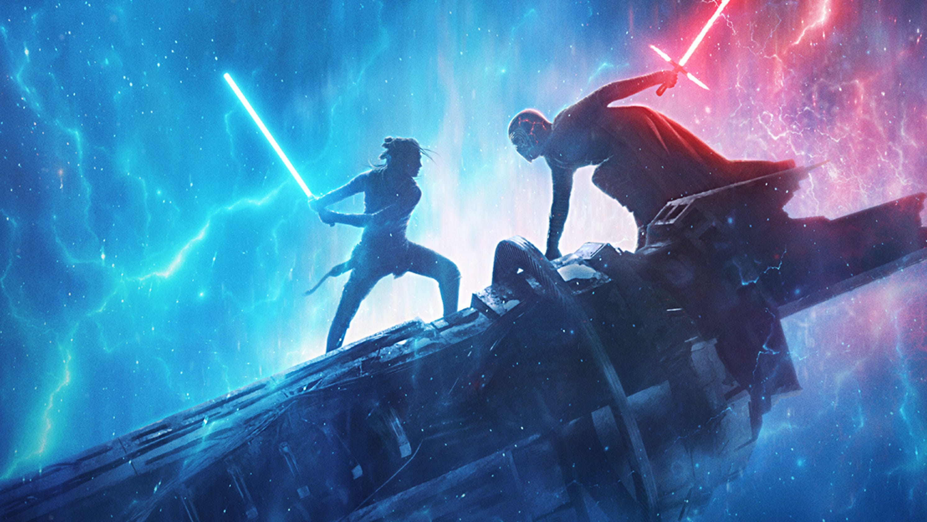 'Star Wars' fans lose it over 'Rise of Skywalker' D23 footage and Rey's double lightsaber