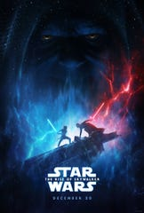 "The new poster from ""The Rise of Skywalker."""