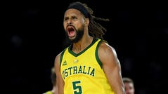 Patty Mills scored 30 points to help Australia beat the U.S. for the first ime ever.