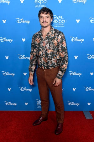Pedro Pascal attends D23 Disney + showcase at Anaheim Convention Center on August 23, 2019 in Anaheim, California.