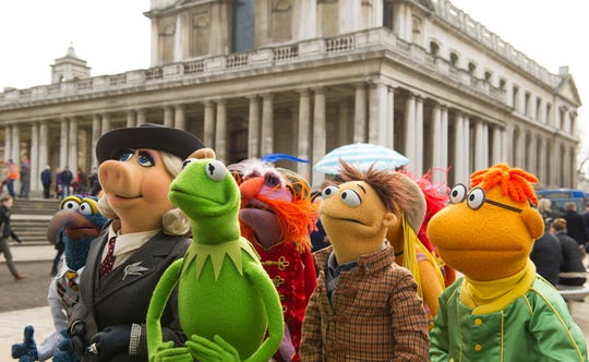 "The Muppets (in ""Muppets Most Wanted"") are coming back with Disney streaming."