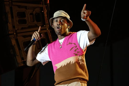 Friday headliner Tyler, the Creator