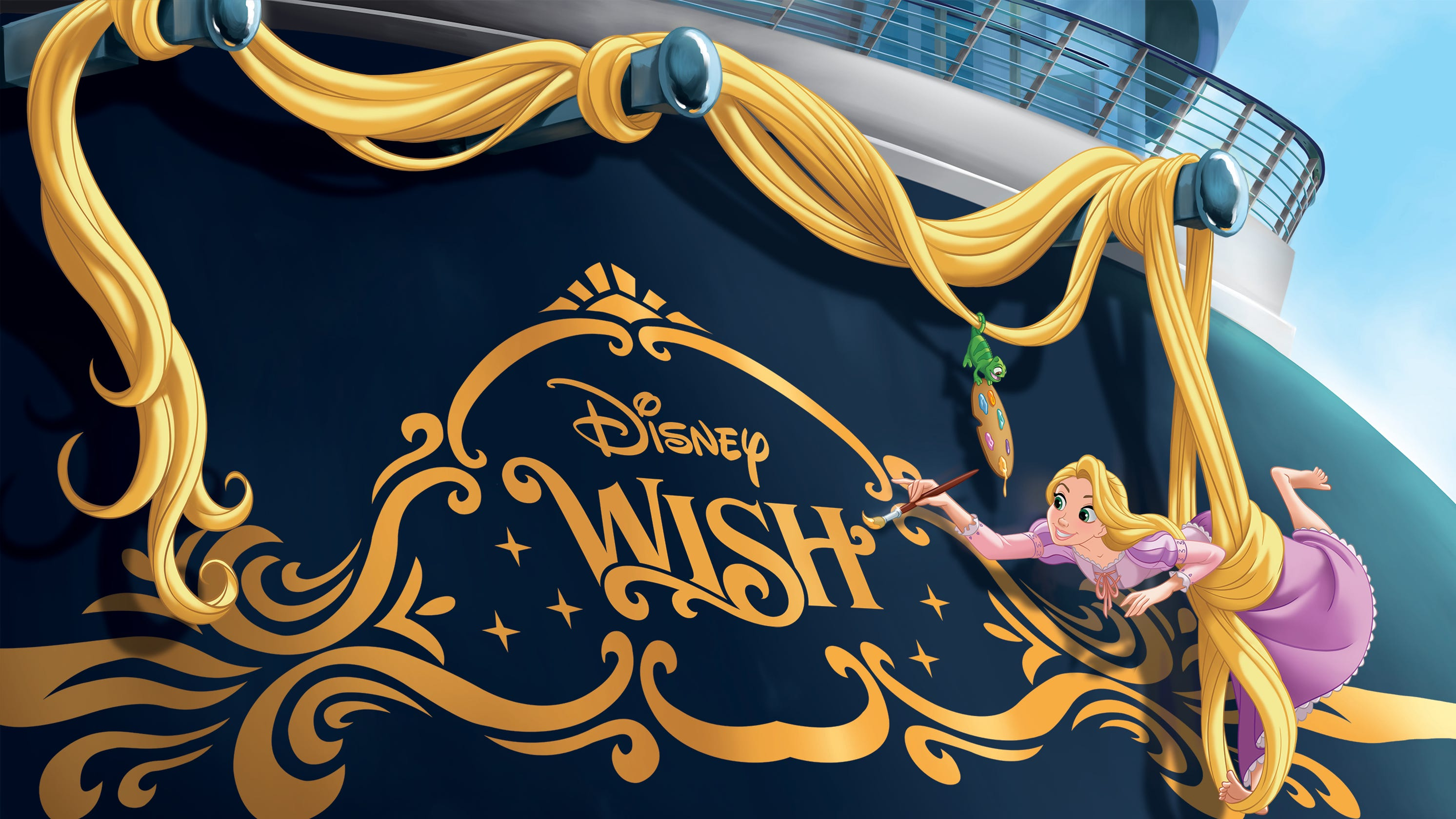 Disney Cruise Line names newest ship Wish, announces second private island