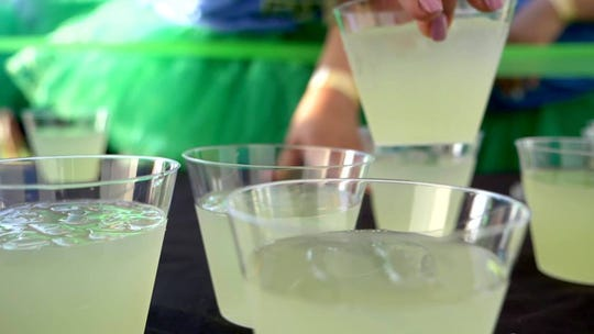 Margarita Madness 5K is billed as a race in which participants receive a margarita at the finish line.