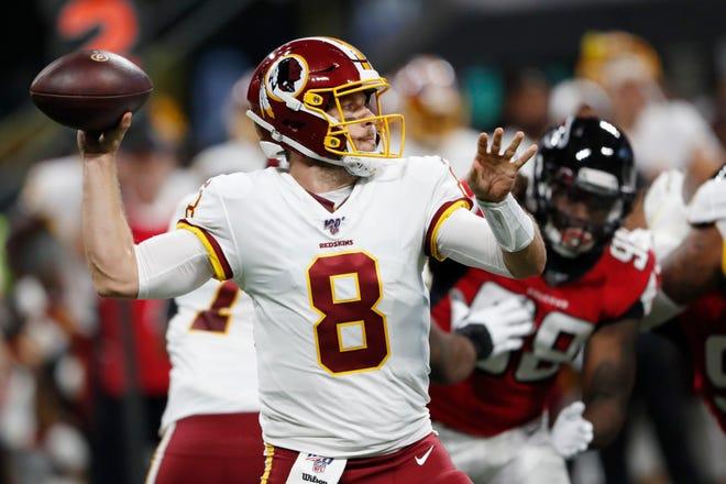Washington quarterback Case Keenum