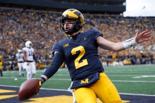 the latest 09da9 26afa Jim McElwain: Michigan quarterback Shea Patterson has 'it ...