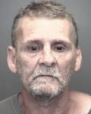 "According to the affidavit, Michael Langston, 57, was arrested Friday after police found him ""hiding"" at a motel on Fares Avenue."