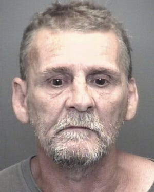 """According to the affidavit, Michael Langston, 57, was arrested Friday after police found him """"hiding"""" at a motel on Fares Avenue."""