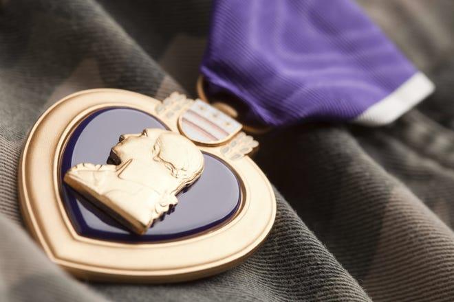 Purple Heart War Medal.