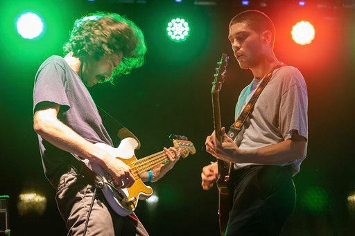 Stephen and Erik Paulson of Remo Drive take the stage at Last Call Before Fall.