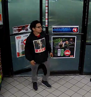 The Lee County Sheriff's Office is looking for this man in connection with an early morning armed robbery at a convenience store at the corner of Summerlin Road and John Morris Boulevard.
