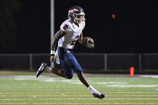 """South-Doyle running back Elijah Young """"is all-world ... fast and physical and just a phenomenal player,"""" said head coach Clark Duncan. Young has committed to Missouri."""
