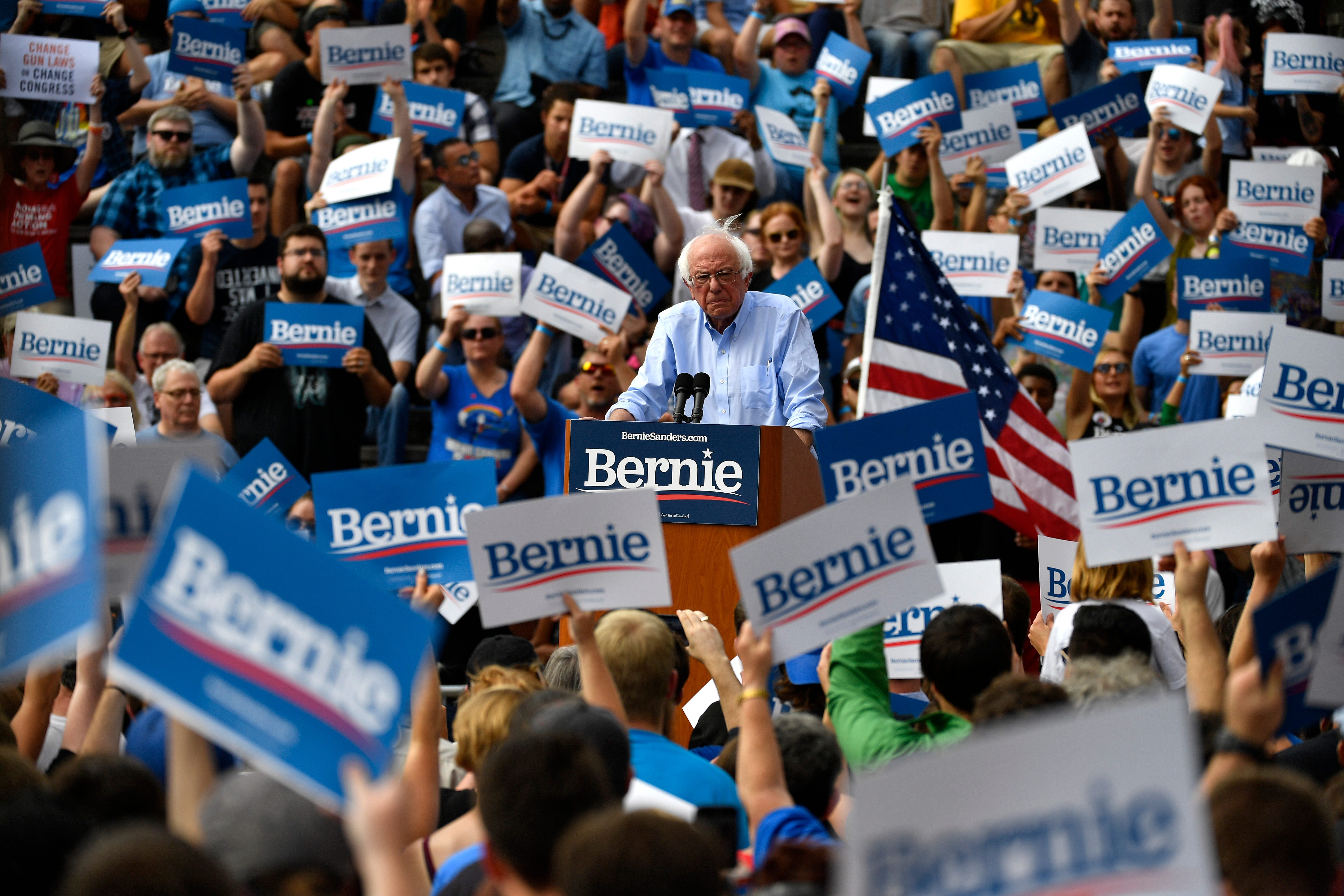 Democrats  Bernie Sanders problem: They are damned if they nominate him and damned if they don t