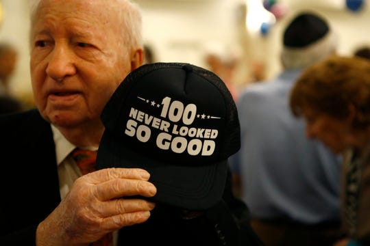 Memphis' oldest Holocaust survivor celebrates 100th birthday