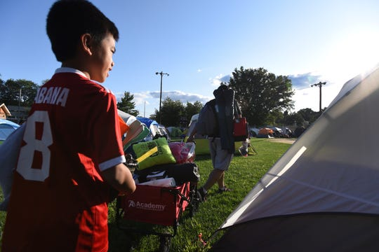 The Emerson Police Dept Community  hosted  its annual free open house/movie night together with a free overnight family camp out for Emerson residents