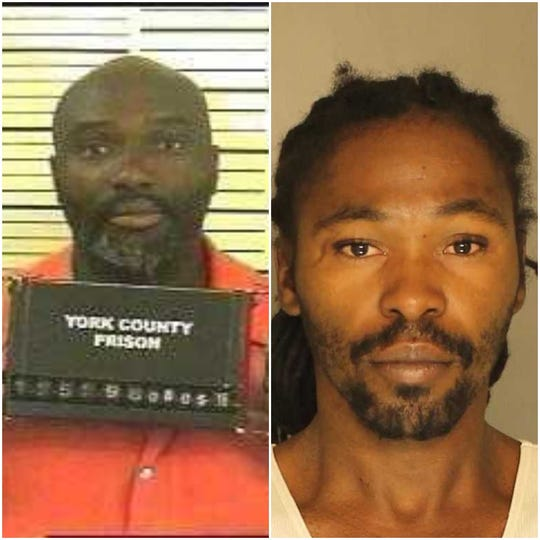 James C. Steele, left and Dexter L. Kelly, both facing charges of aggravated assault in separate incidents involving razors.
