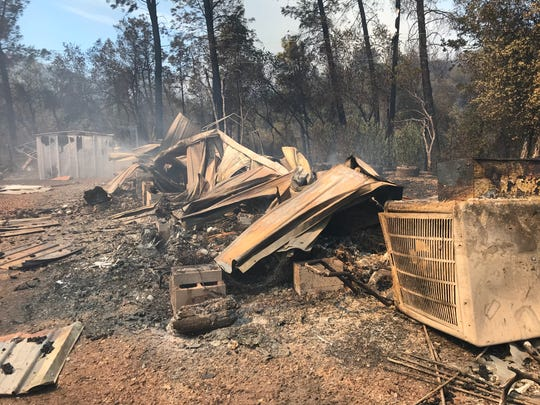 The Mountain Fire burned 600 acres and destroyed 14 buildings in August of 2019.