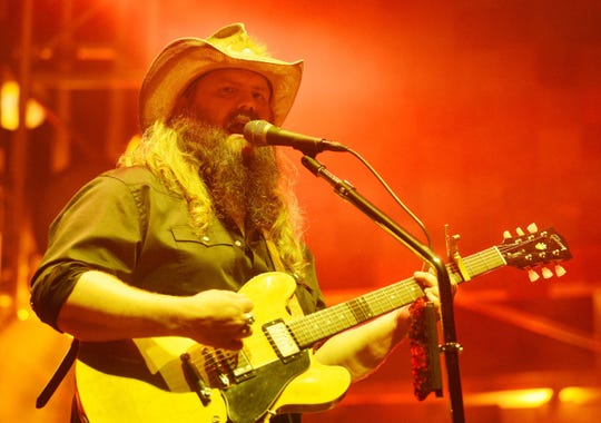 Chris Stapleton performs Friday at the Cajundome.