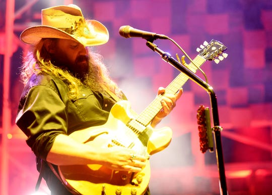 Country star Chris Stapleton brings his All American Road Show to JQH Arena on Oct. 3.