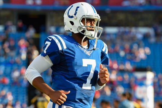 Jacoby Brissett has been elevated up the Colts' depth chart with the retirement of Andrew Luck.