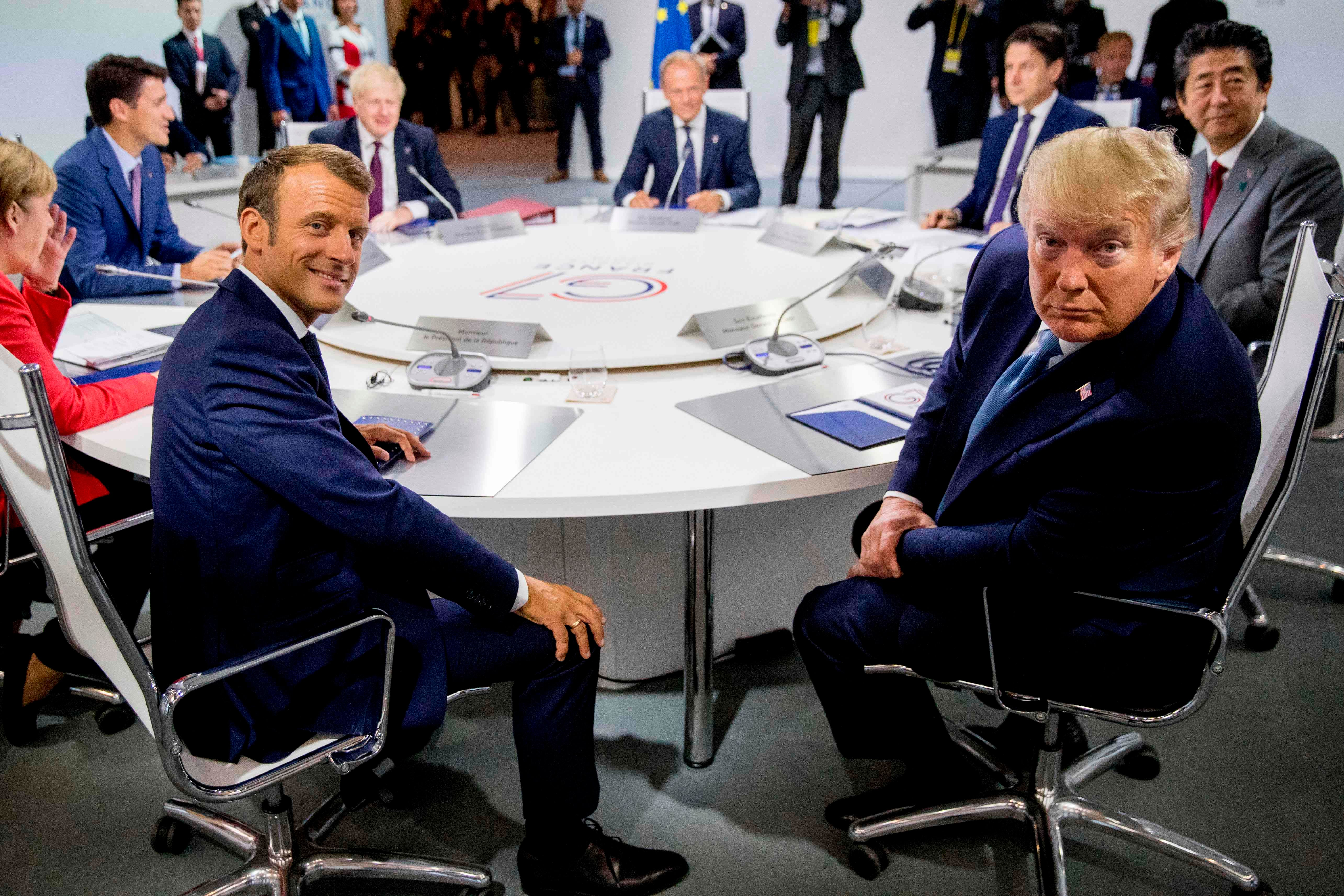 Behind-the-scenes discord rattles G7 summit despite Donald Trump's claim that all is well