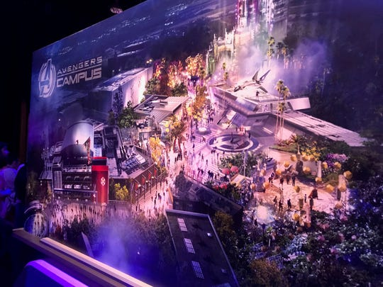 Disney revealed the Avengers Campus theme park, coming soon to Disney's California Adventure Park.