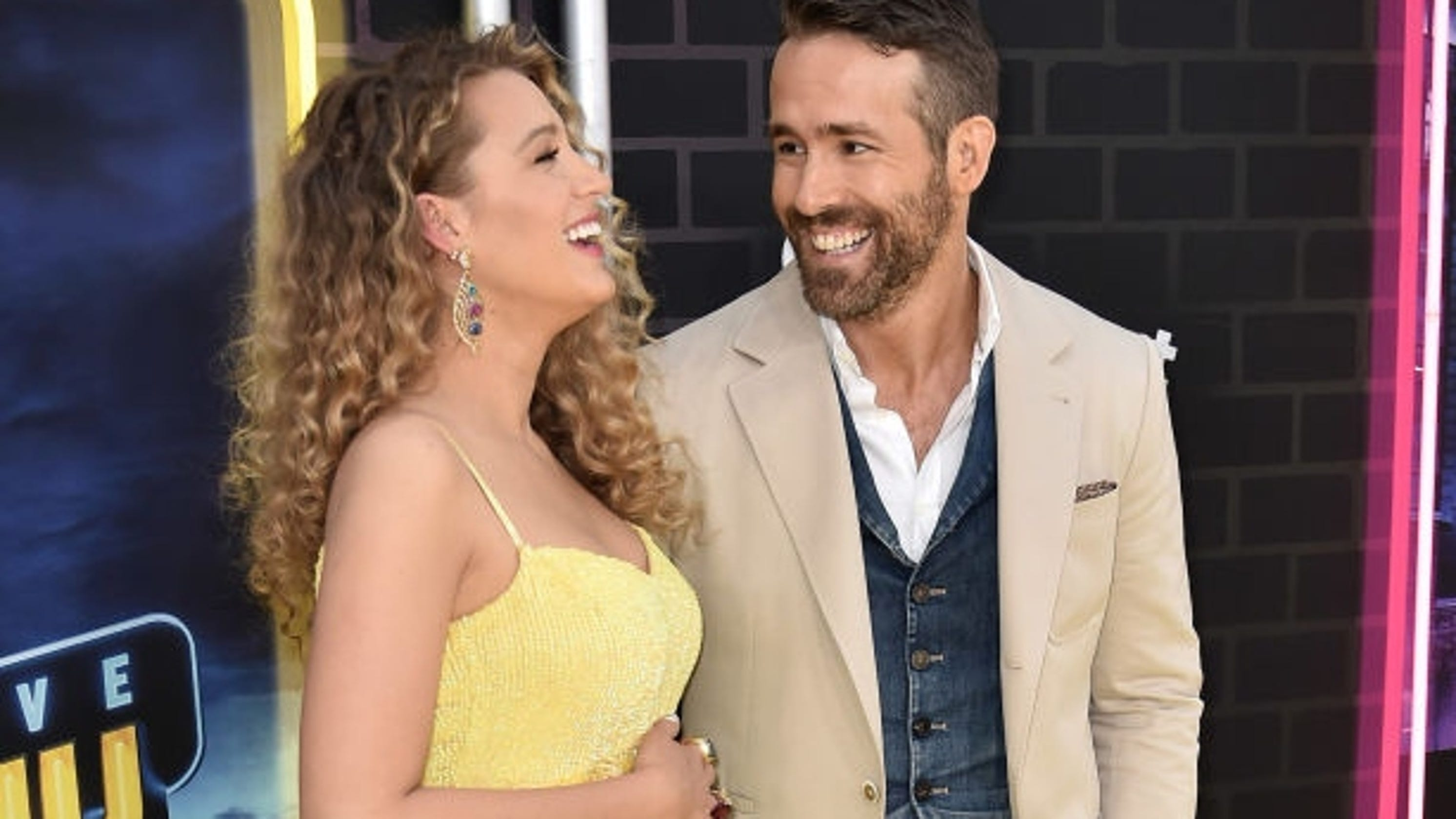 Ryan Reynolds trolls pregnant wife Blake Lively on her birthday with unflattering photos