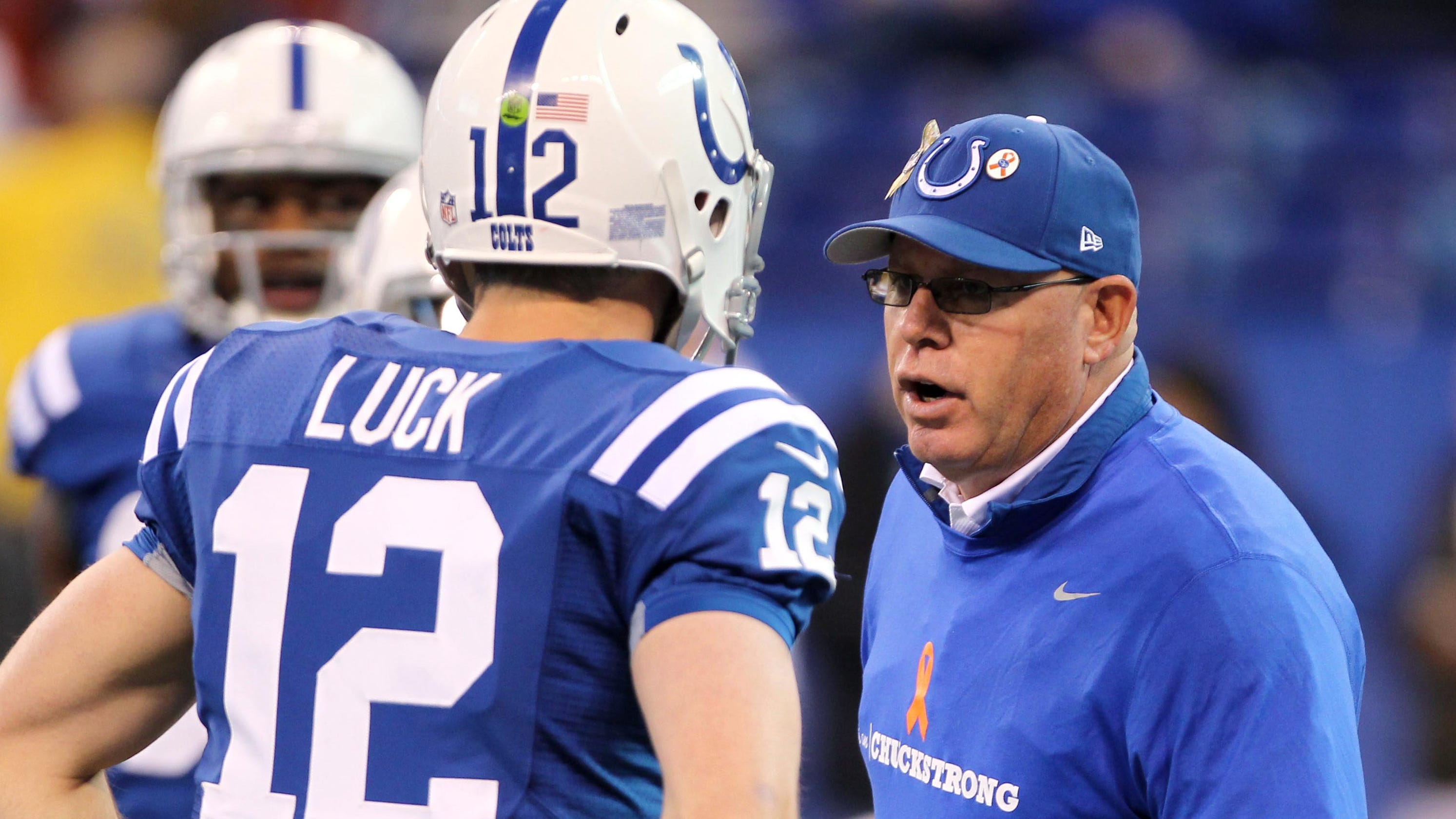 Buccaneers coach Bruce Arians: 'Very disheartening' to see Andrew Luck retire from Colts