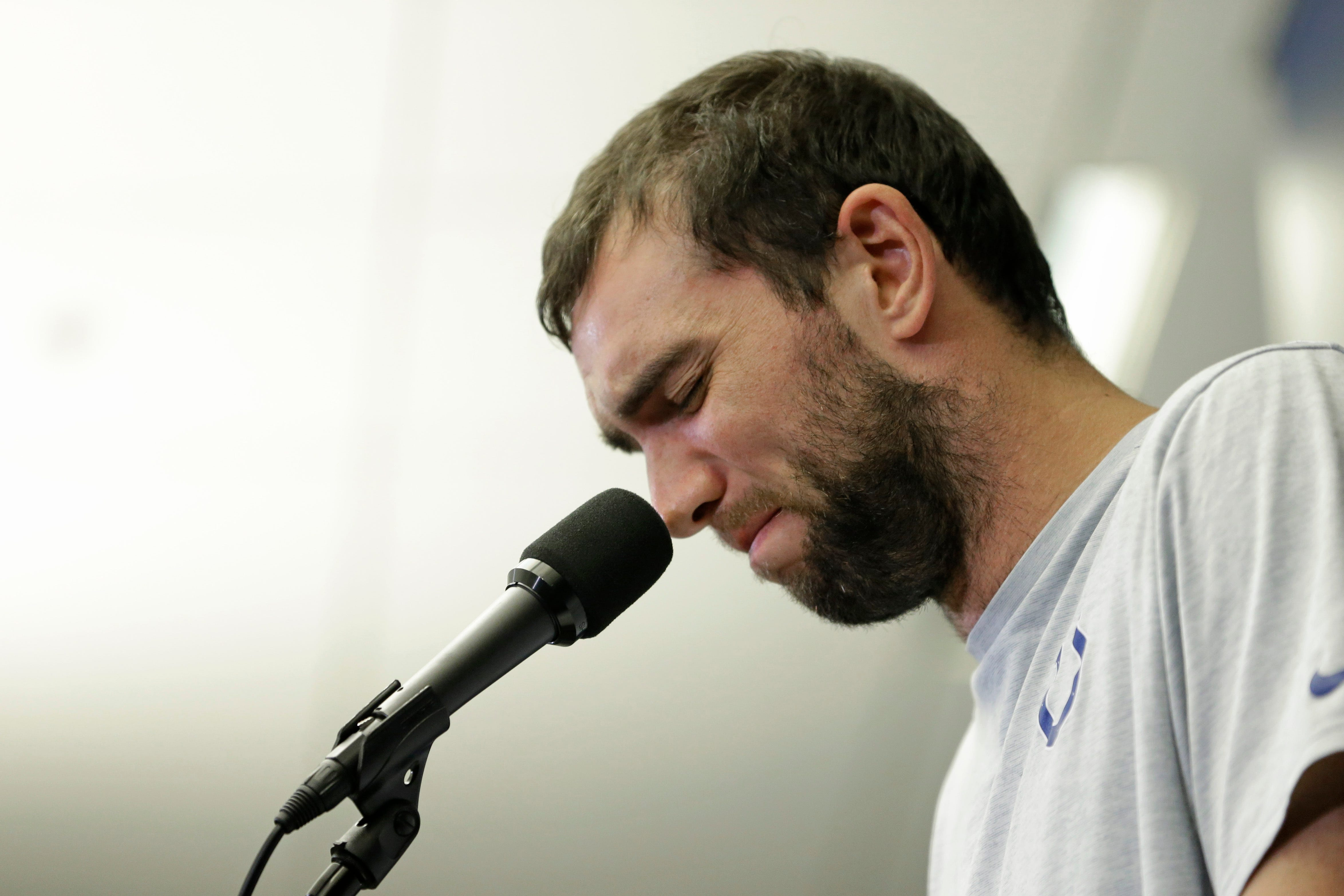 Opinion: Andrew Luck shows strength in walking away. But some Colts fans just don't get it