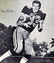 Dave Parks played for the New Orleans Saints after four years with the San Francisco 49ers. The Abilene High grad, who died last week at 77, played 10 seasons in the NFL.
