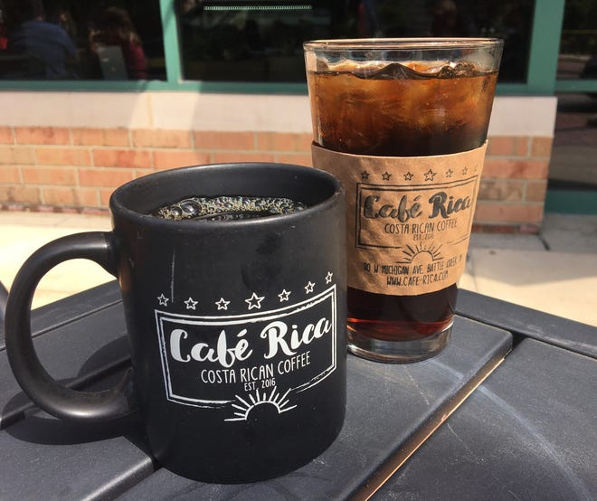 Costa Rican coffee and seasonal brews are just some of the offerings at Café Rica in downtown Battle Creek.