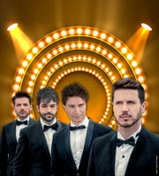 The Four Italian Tenors will perform at the King Center for the Performing Arts on Dec. 1