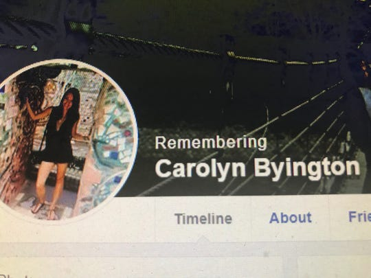 A Facebook page has been created to remember murder victim Carolyn Byington of Plainsboro.
