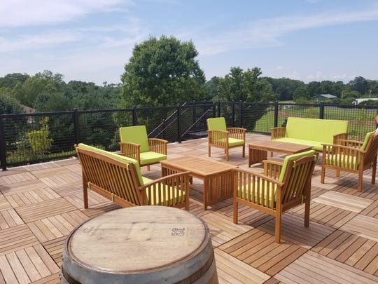 The newly opened Source Brewery in Colts Neck offers a sweeping view.
