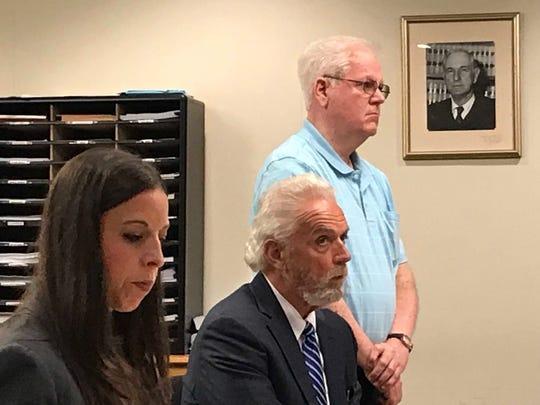 Assistant Prosecutor Allysa Gambarella, defense attorney William Fetky and Thomas Ganley