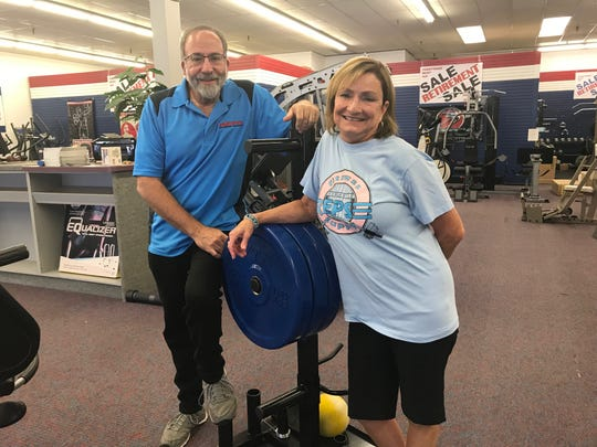 "For 30 years, the Kaplans ""pumped you up"" at Reps Fitness Supply on Route 22 in Somerville. But as of Sept. 15, Mitch and Karen Kaplan are retiring and a new fitness enterprise will take over the store, continuing the Reps legacy."