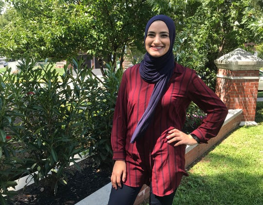 Fatema Sumrein, a language arts teacher at McManus Middle School in Linden, delivered a TED Talk at a New Jersey Department of Education conference on equity in the classroom. She focused on her own battle against discrimination as a child.