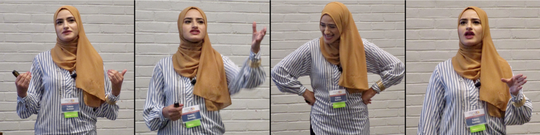 """Linden teacher Fatema Sumrein shared personal parts of her life in her TED Talk. """"The first two times I presented my talk, I cried,"""" she said. """"It's emotional. I'm always a funny, happy-go-lucky type of person, so for me to show my vulnerability was a big thing for me."""""""