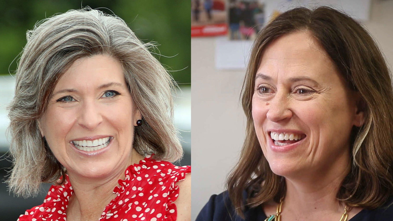 Iowa Poll: Republican Joni Ernst pulls ahead of Democrat Theresa Greenfield in closing days of U.S. Senate race