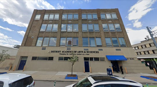 Detroit Academy of Arts and Sciences, shown, along with Escuela Avancemos Academy, Hope Academy and Jalen Rose Leadership Academy host The Detroit Children's Fund's School Collaboration Collective program. The $3.5 million pilot program infuses cash into the four non-profit charter schools, paying for teacher retention bonuses, new curriculum and building and technology improvements.